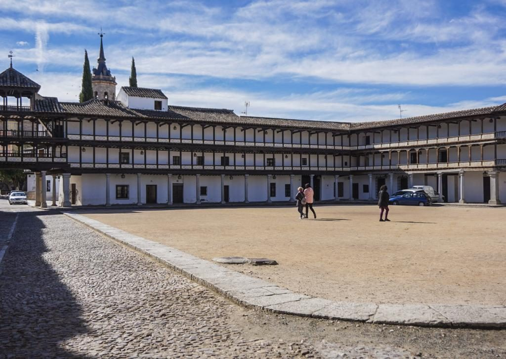 Plaza Mayor de Tembleque.