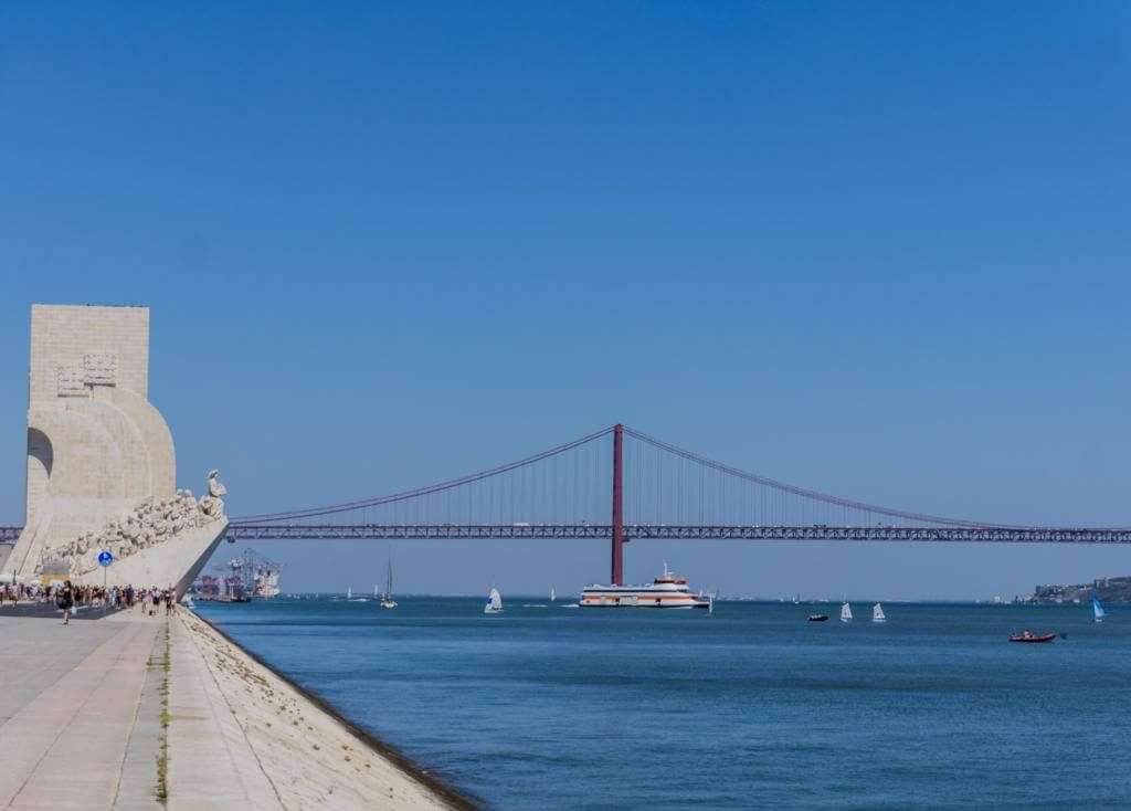 ¿Qué ver en Lisboa en dos días? Puente 25 Abril.