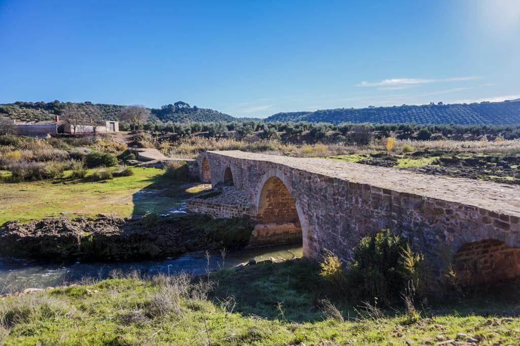 Puente Mocho en la provincia de Jaén.