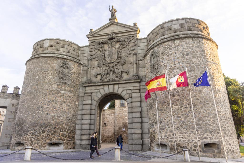 Puerta de Bisagra.