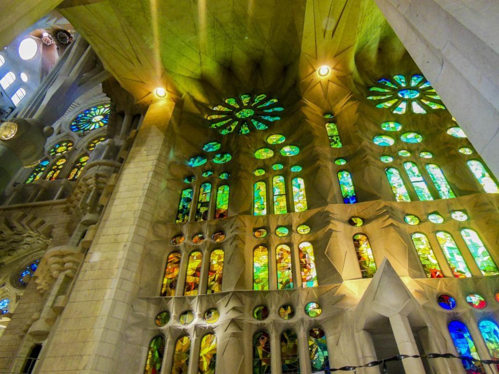 Sagrada Familia de Barcelona.