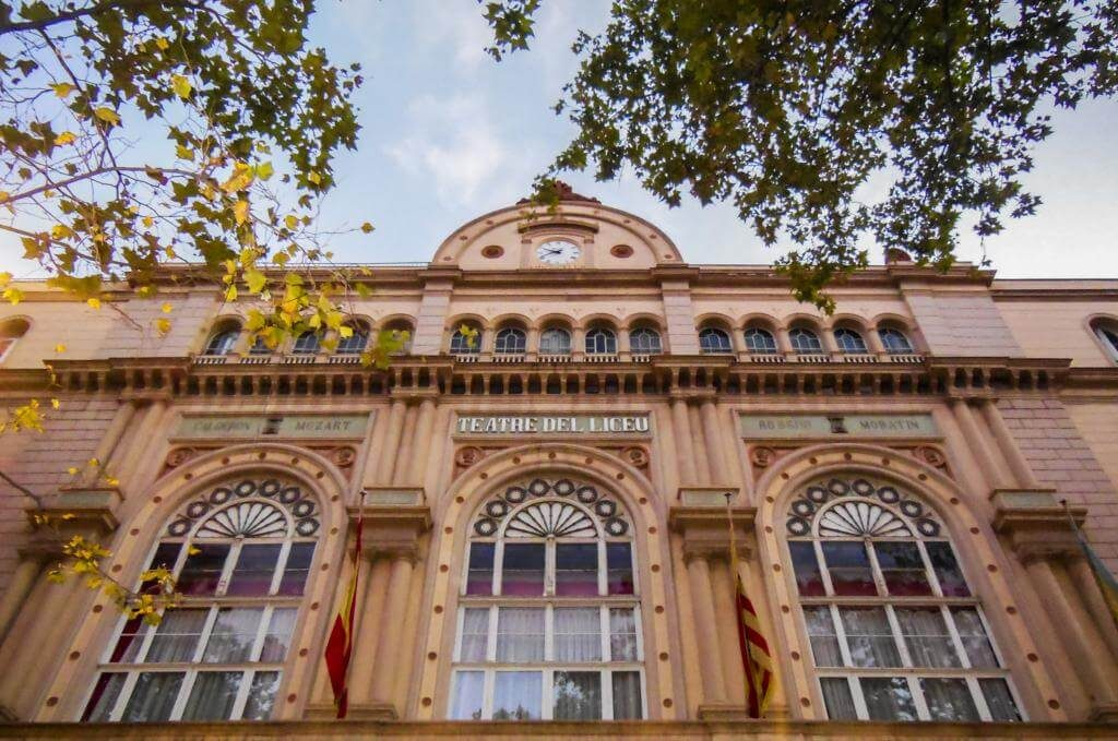 Teatro Liceu.