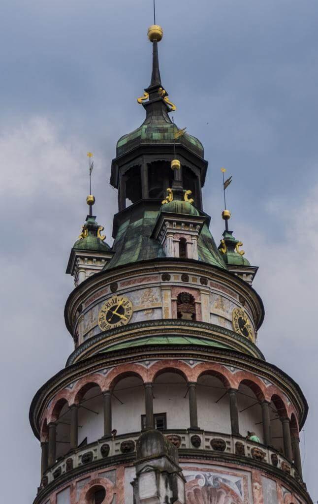 ¿Qué ver en Cesky Krumlov en 1 día? Torre del Castillo.