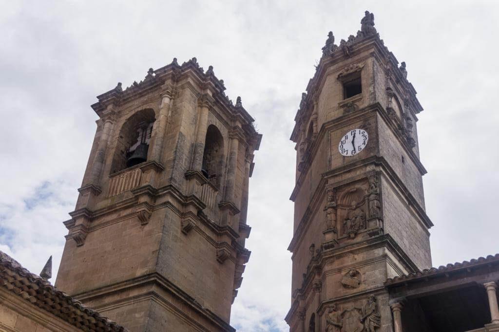 Torre de la Trinidad y Torre de El Tardón.