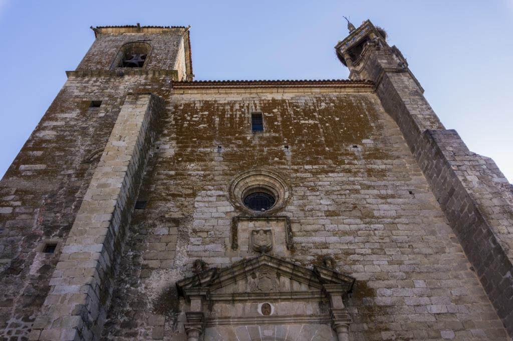 Iglesia de San Martín en Trujillo.