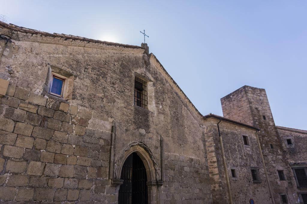 Iglesia de Santiago en Trujillo.