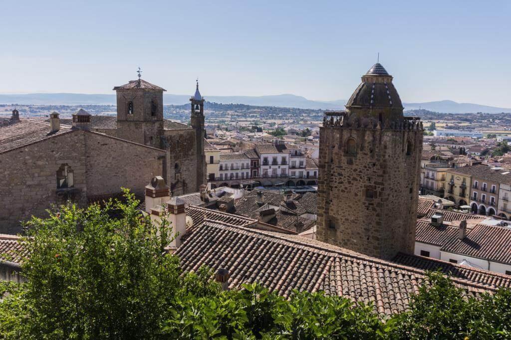 ¿Qué ver en Trujillo en 1 día? Puerta de las Palomitas.
