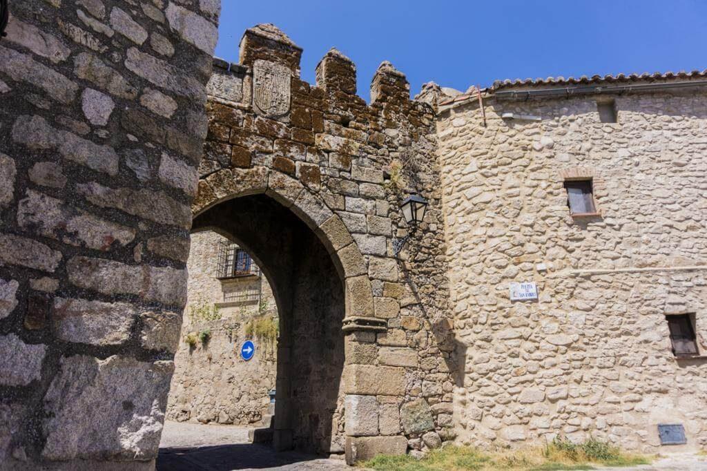 ¿Qué ver en Trujillo en 1 día? Puerta de San Andrés.