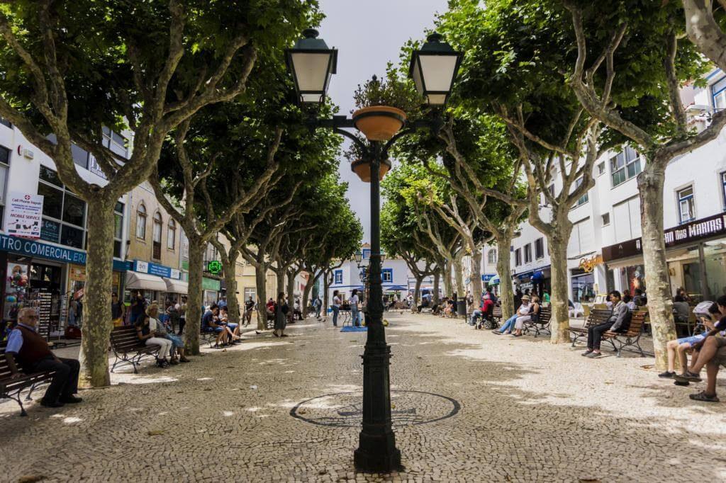 Calle principal de la ciudad.