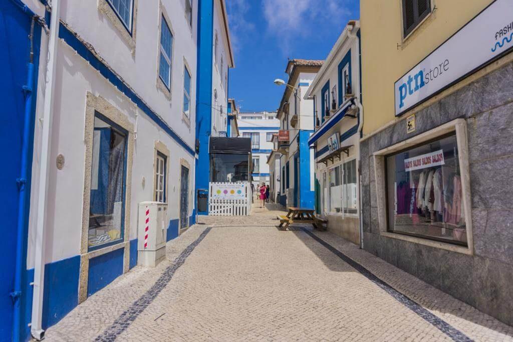Centro histórico de Ericeira.