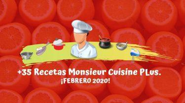 Recetas Monsieur Cuisine PLus
