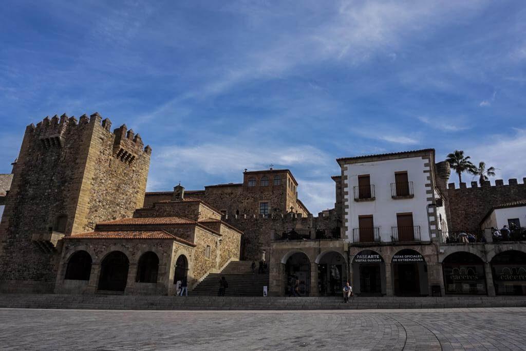 ¿Qué ver en Cáceres en 1 día? Plaza Mayor.
