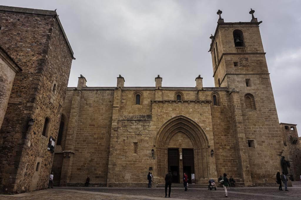 ¿Qué ver en Cáceres en 1 día? Concatedral de Santa María.