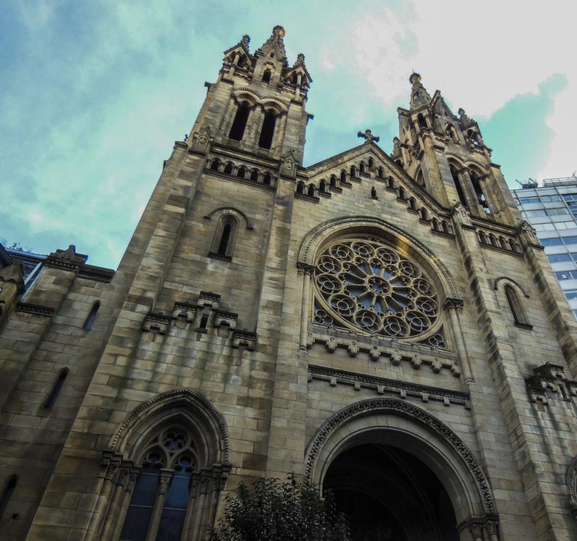 Iglesia de San Francisco de Asís en Bilbao.