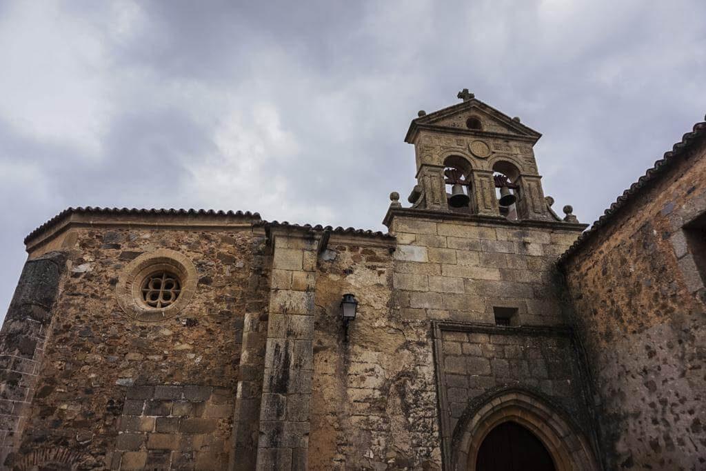 Convento de San Pablo en Cáceres.