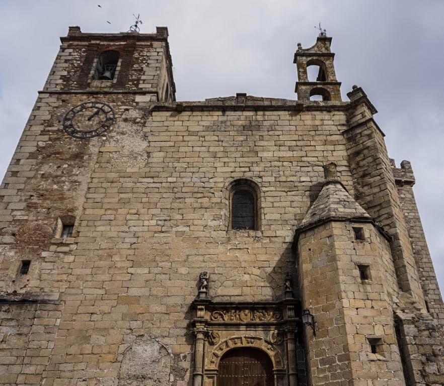 Iglesia de San Mateo en Cáceres.