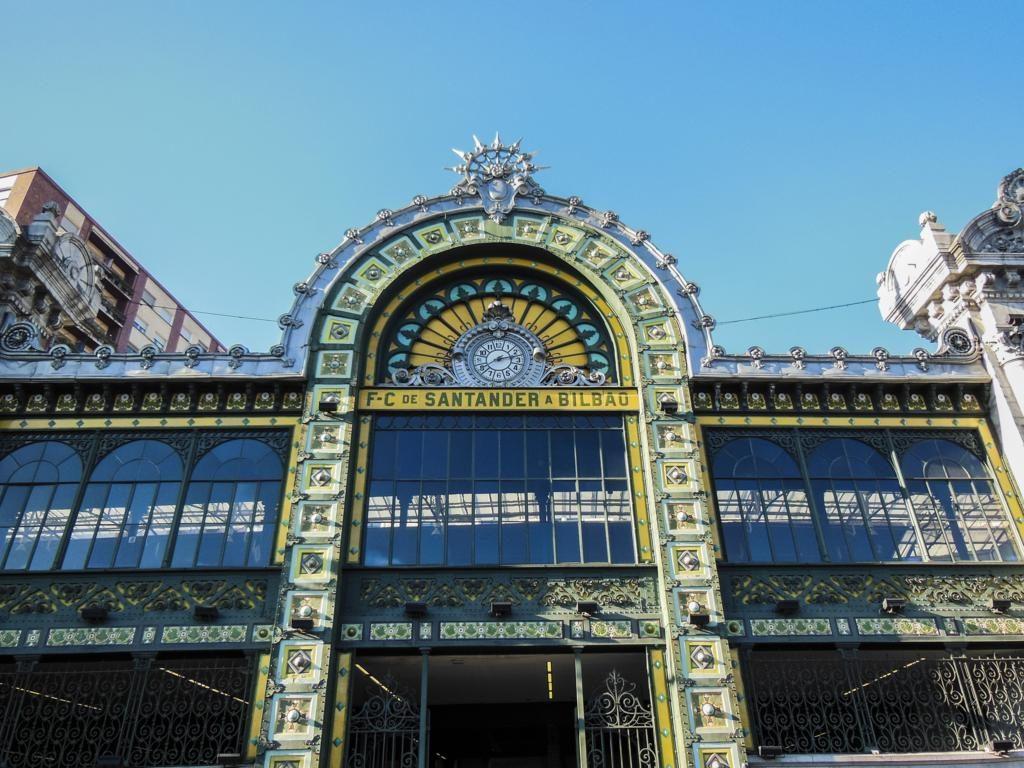 ¿Qué ver en Bilbao en dos días? Estación de la Concordia.