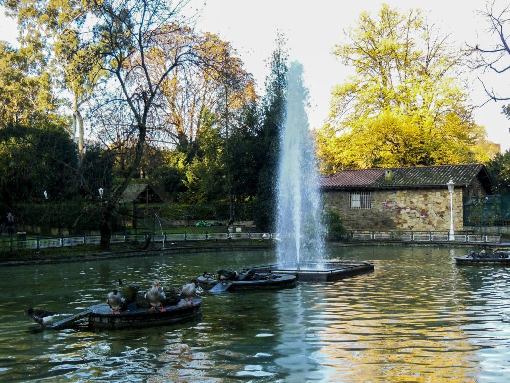 ¿Qué ver en Bilbao en dos días? Parque Doña Casilda.