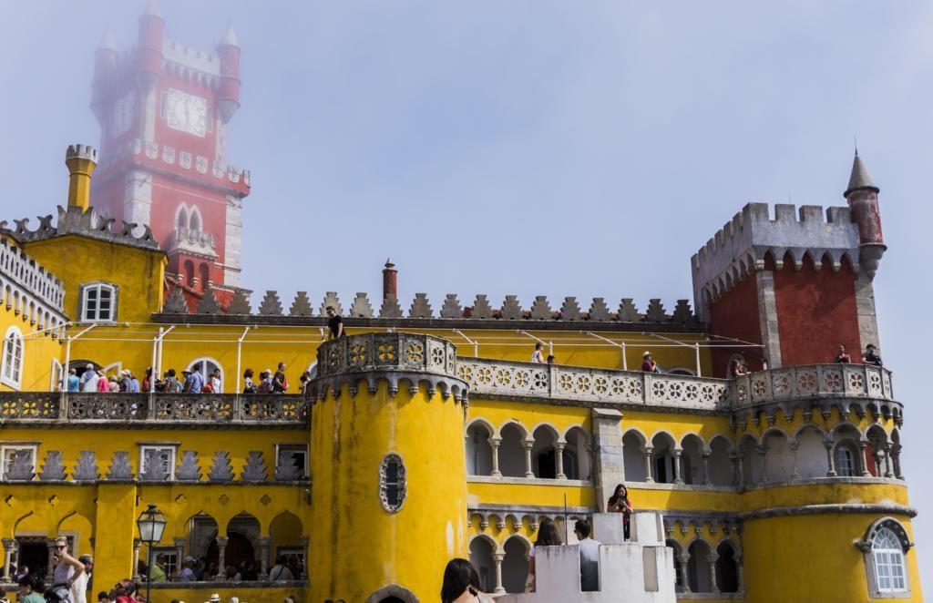 ¿Cómo ir de la estación de tren de Sintra al Palacio da Pena?