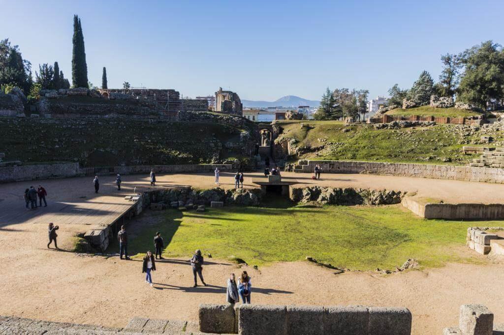 Anfiteatro Romano de Mérida.