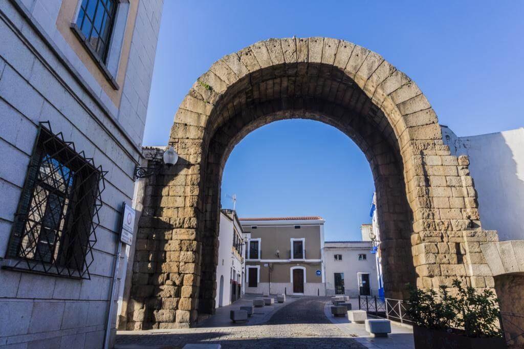 Arco de Trajano en Mérida.