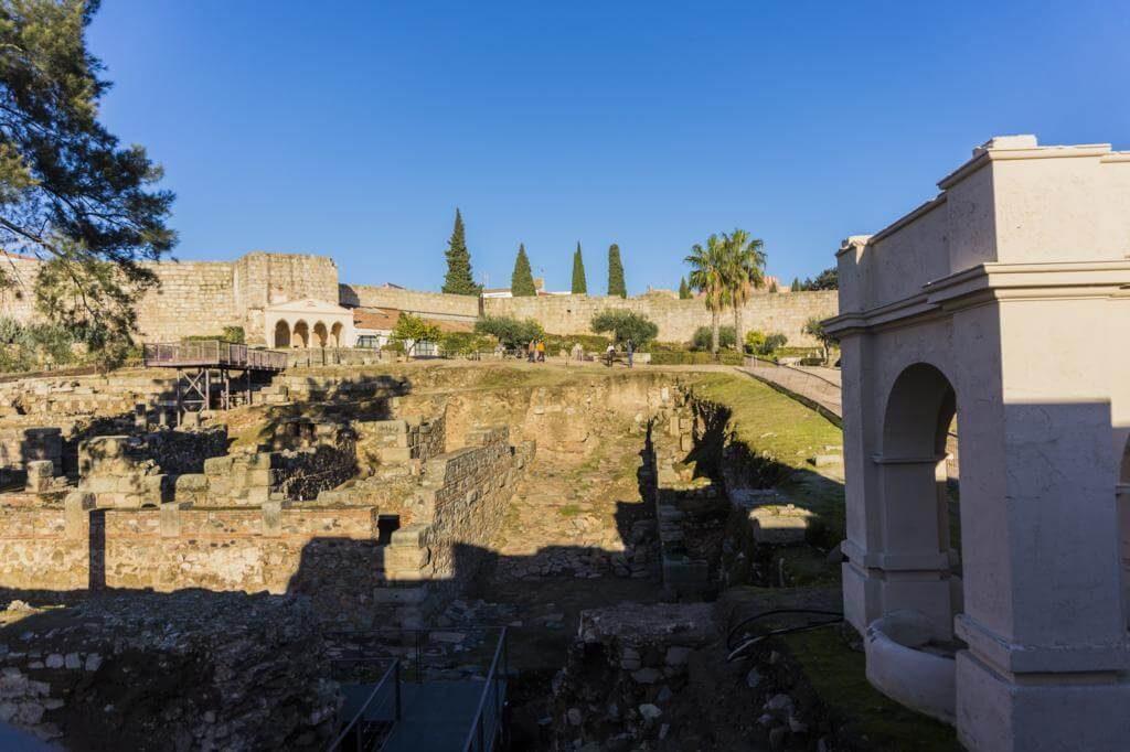 Alcazaba Árabe de Mérida.