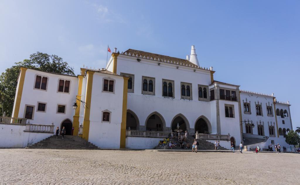 ¿Qué ver en Sintra en 1 día? Palacio Nacional.