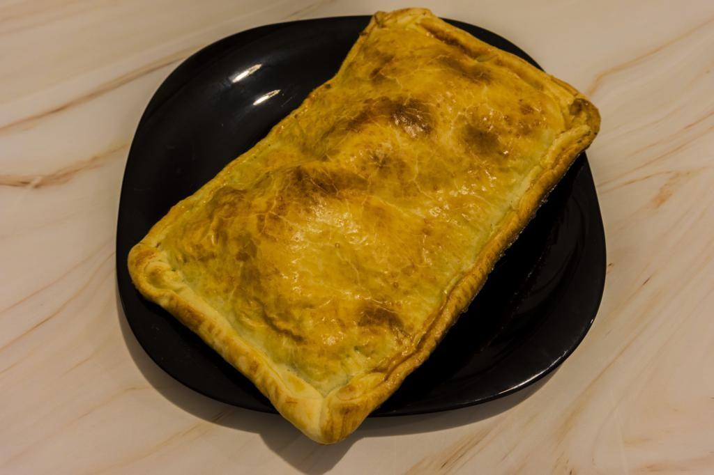 Empanada de Morcilla en Monsieur Cuisine Plus.