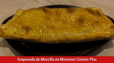 Empanada de Morcilla en Monsieur Cuisine Plus