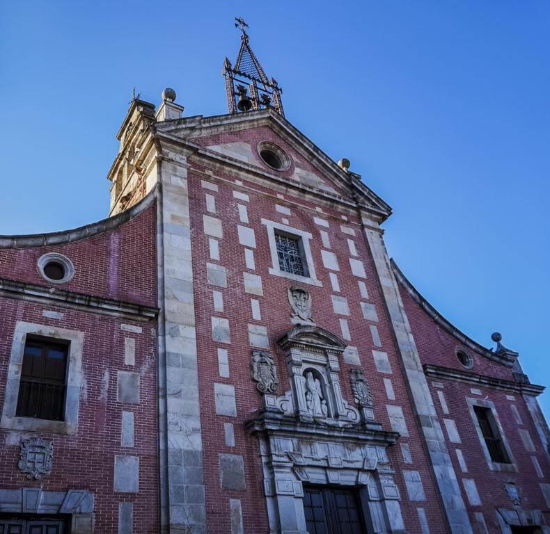 Iglesia de San Juan Bautista en Hervás.