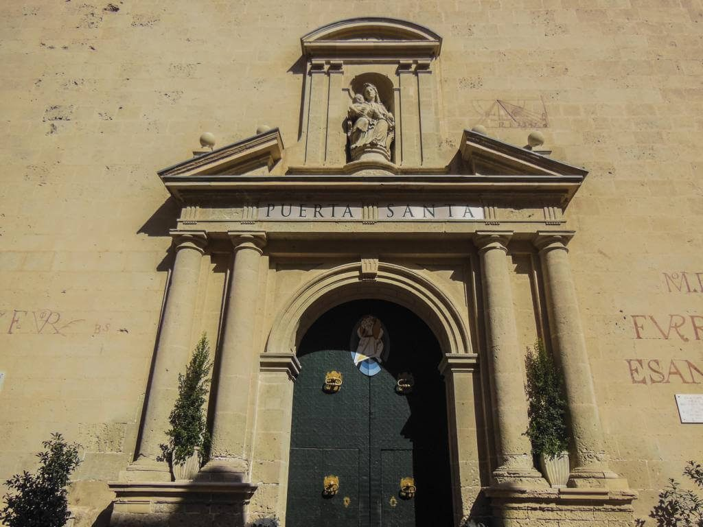 Concatedral de San Nicolás en Alicante.