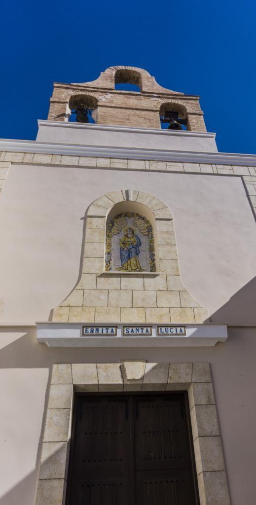 Ermita de Santa Lucía en Ayora.