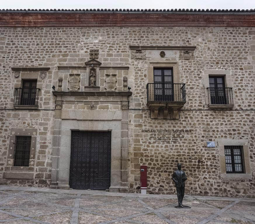 Hospital de Santa María en Plasencia.