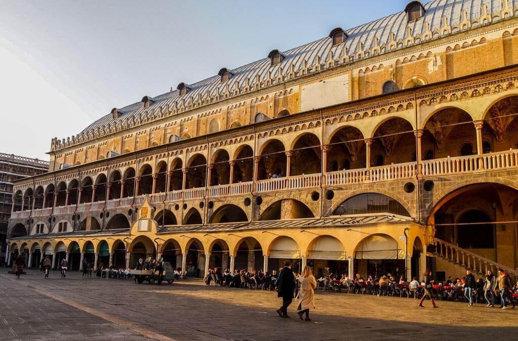 Palazzo della Ragione en Padua.