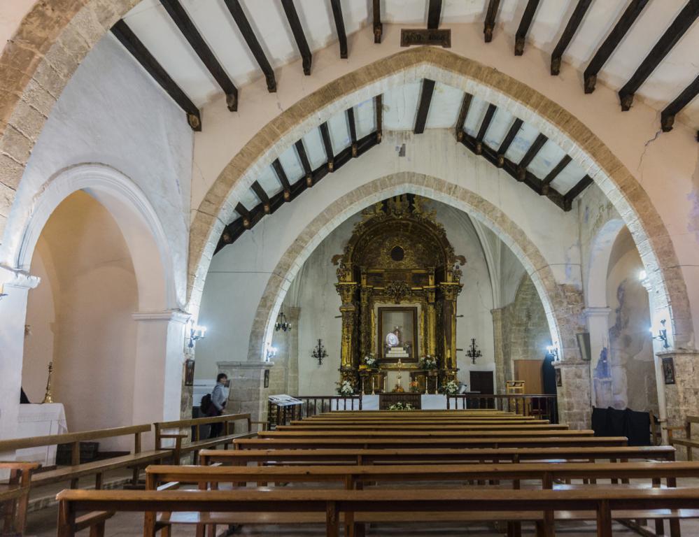 Interior de la Iglesia de Santa María la Mayor.