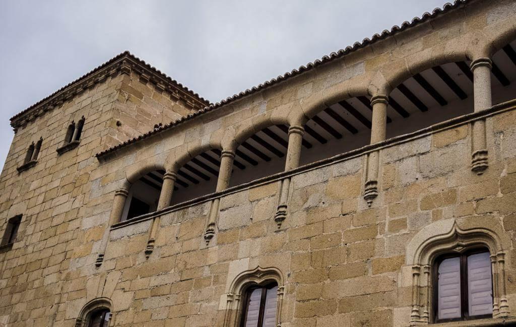 Casa del Doctor Trujillo en Plasencia.