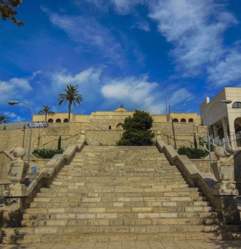 Las Escaleras del Jorge Juan.