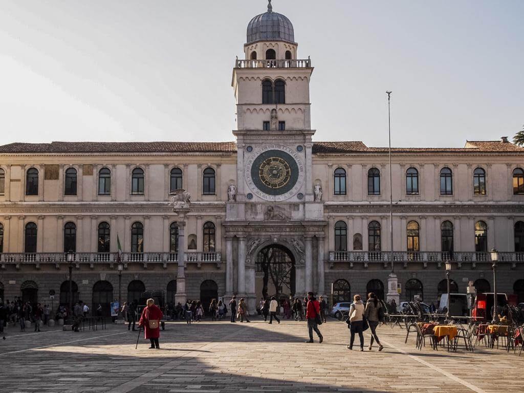 Palazzo del Capitanio en Padua.