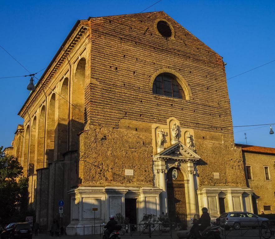 Basilica del Carmine en Padua.