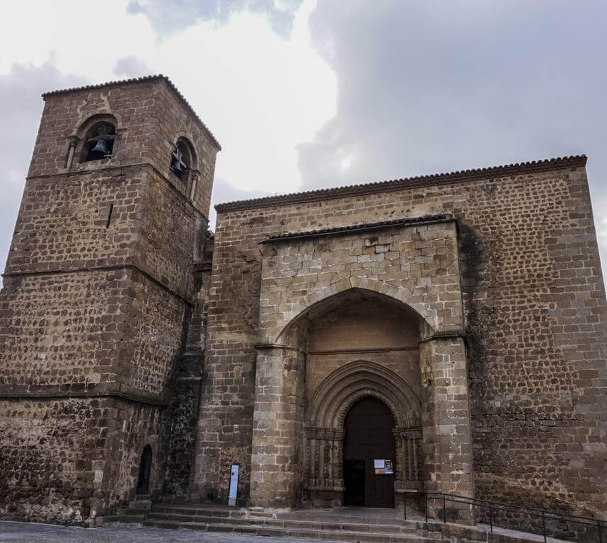 Iglesia de San Nicolás en Plasencia.