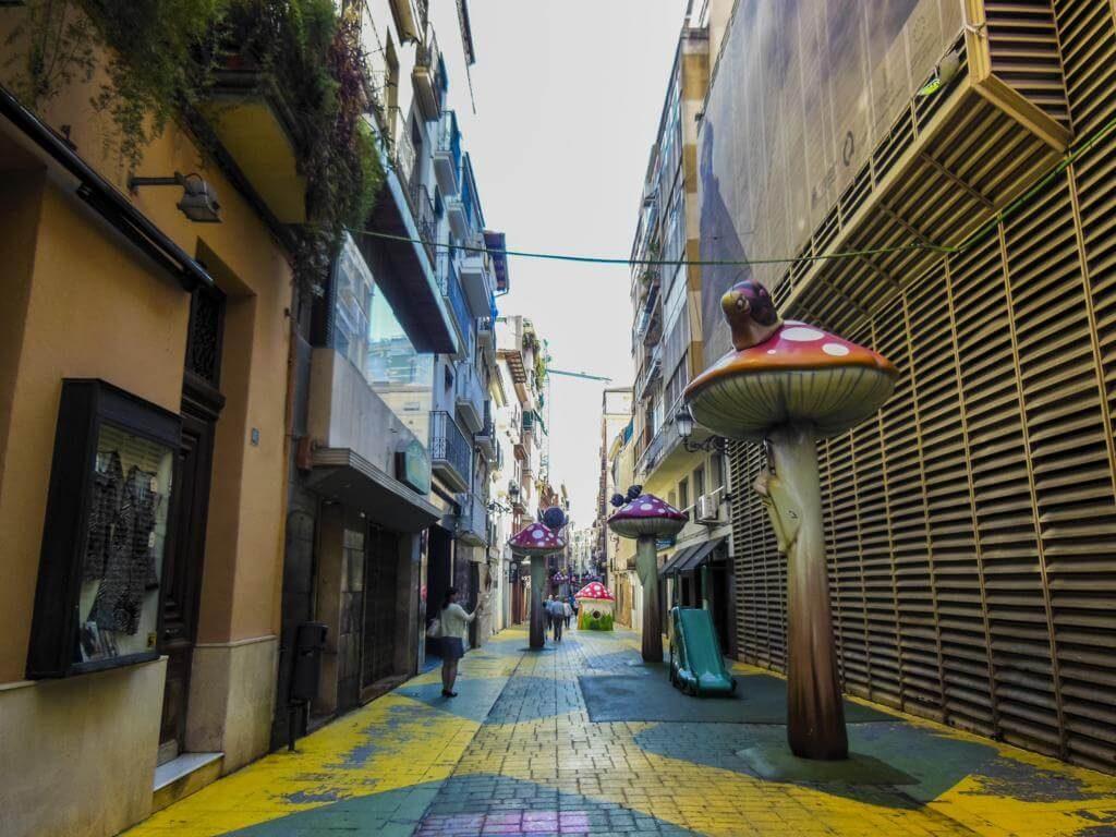 Calle de las Setas.