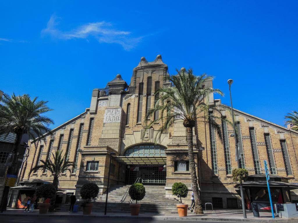 Mercado de Alicante.