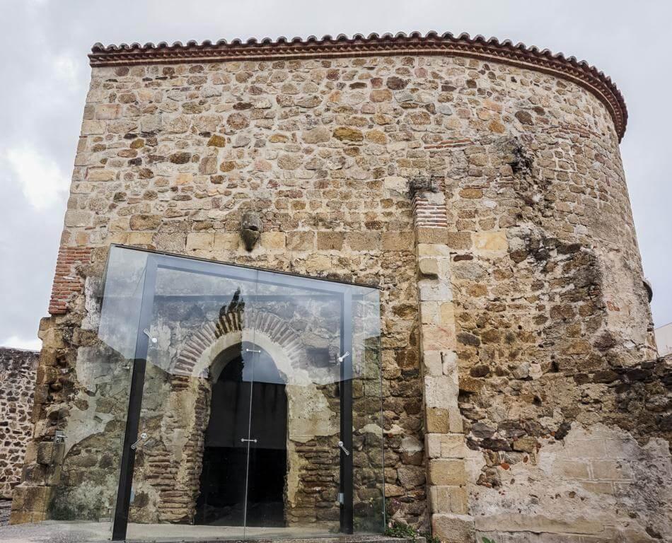 Iglesia de la Magdalena en Plasencia.