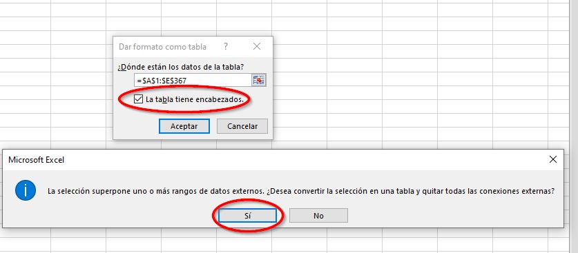 Para mejorar el posicionamiento de tu blog analizar tablas con encabezados.