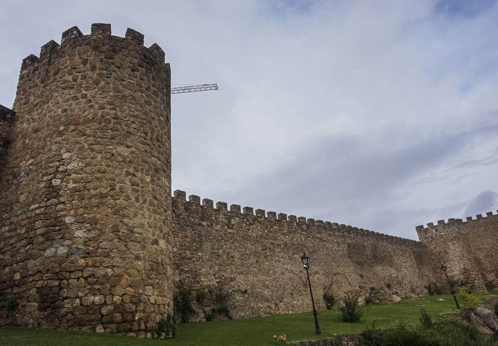 Castillo de Plasencia.