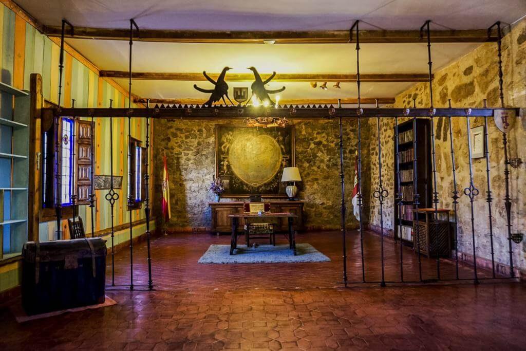Sala de la fortaleza.