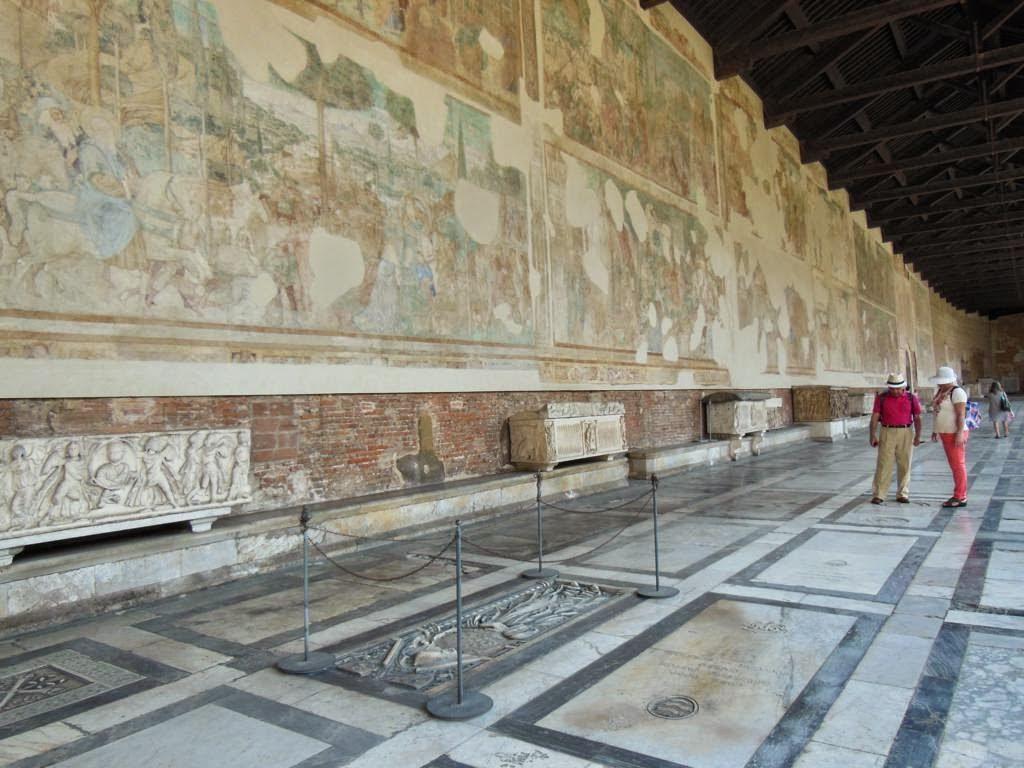 Camposanto Monumental de la ciudad de Pisa