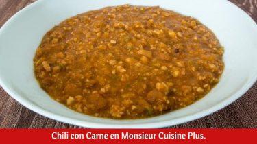Chili con Carne en Monsieur Cuisine Plus