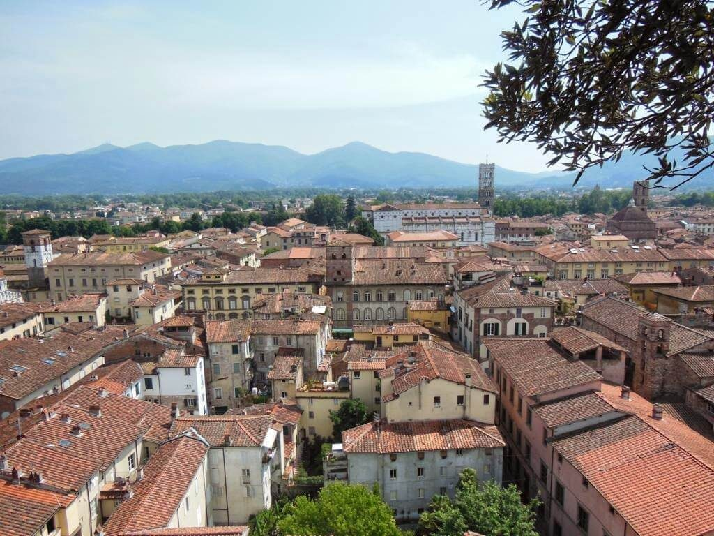 Panorámica de Lucca