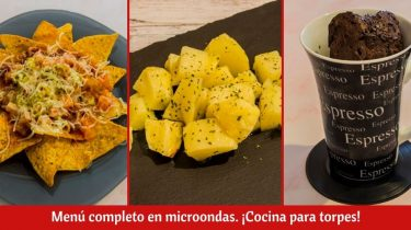 recetas de cocina para microondas